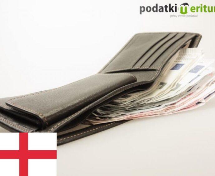 Kwota wolna od podatku w Anglii